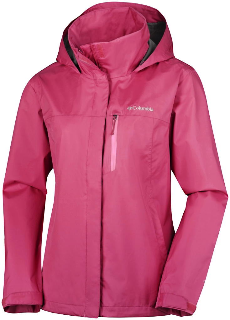 Columbia Pouration Pw Jacket Bright Geranium-30