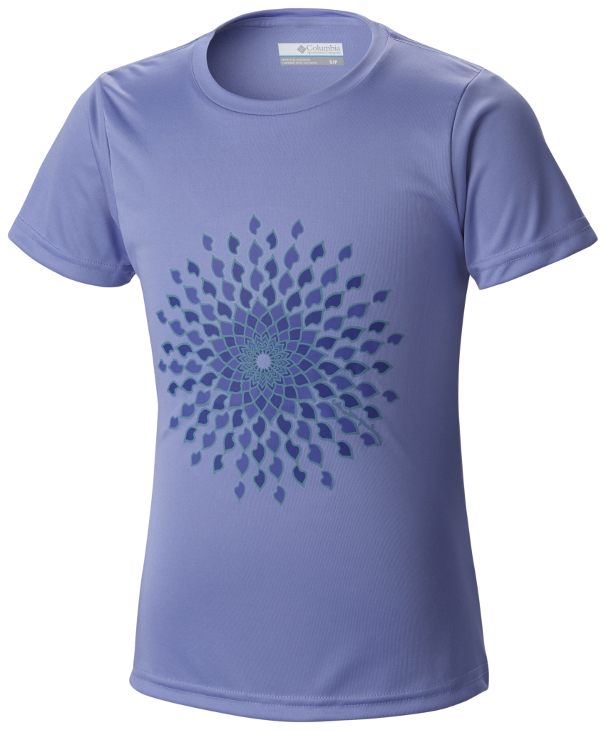 Columbia Sunny Burst Graphic Tee Pale Purple-30