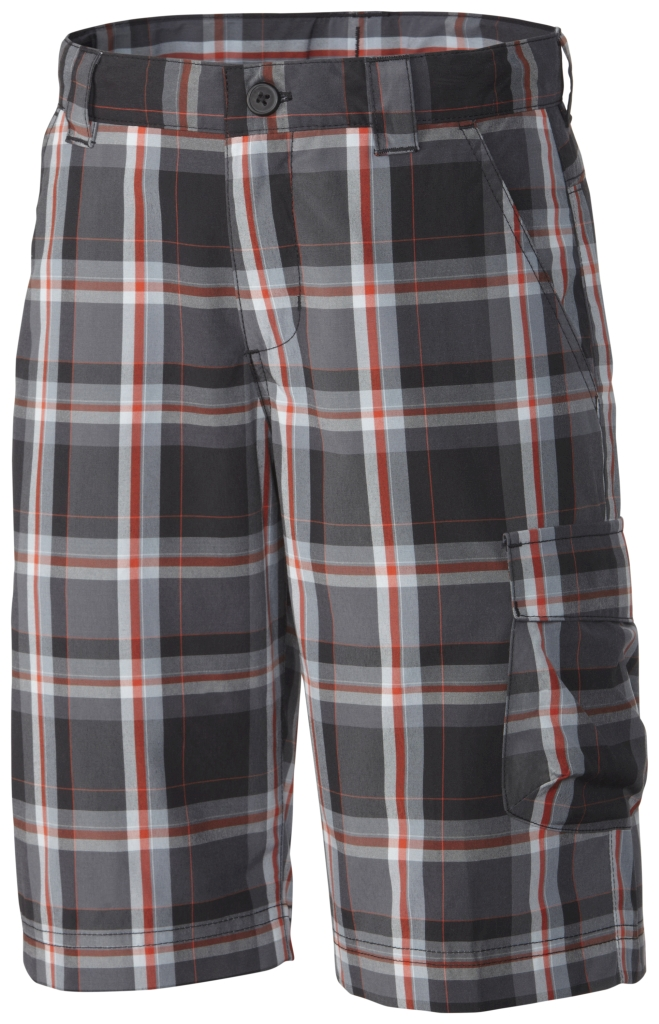 Columbia Silver Ridge III Plaid Short Black Plaid-30