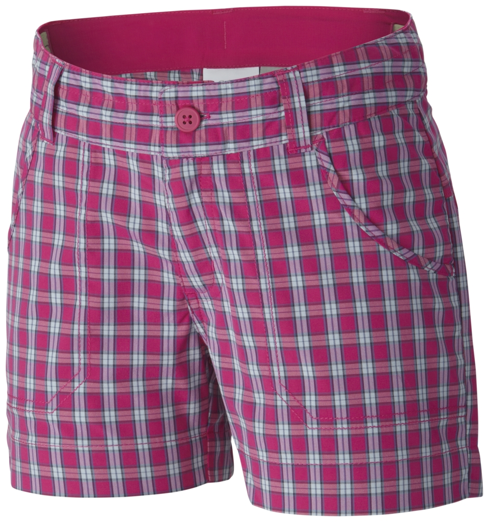 Columbia Silver Ridge III Plaid Short Haute Pink Plaid-30