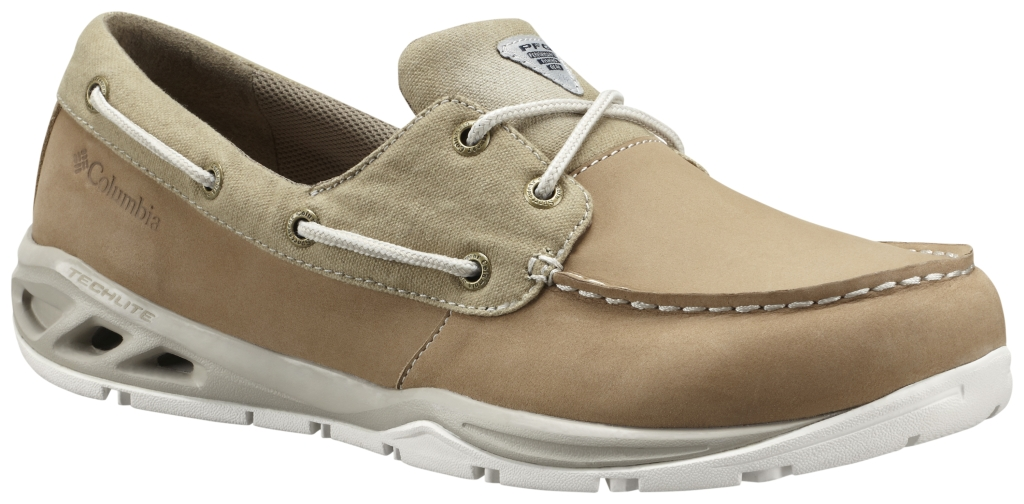 Columbia Boatdrainer Fly PFG 8.5 British Tan, Stone-30