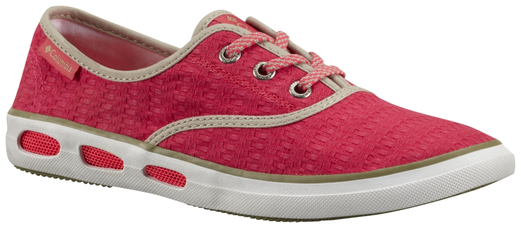Columbia Vulc N Vent Lace Canvas II Laser Red, Cool Moss-30