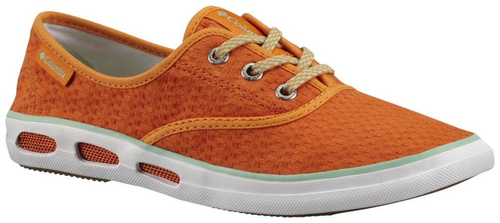 Columbia Vulc N Vent Lace Canvas II Heatwave, Kelp-30
