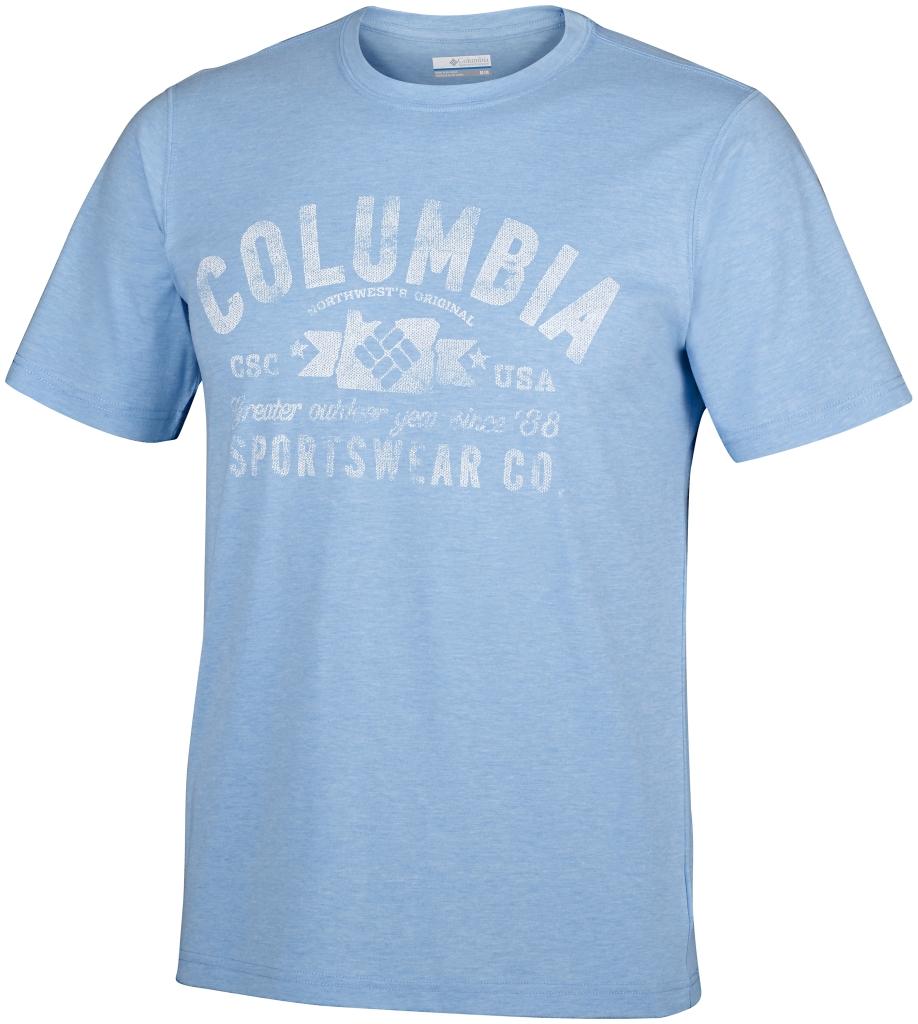 Columbia Csc Eu Round Bend Tee Blue Sky-30