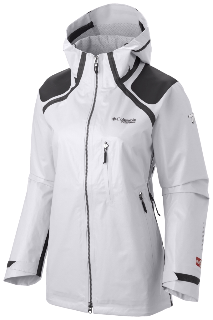 Columbia Outdry Ex Diamond Shell White-30