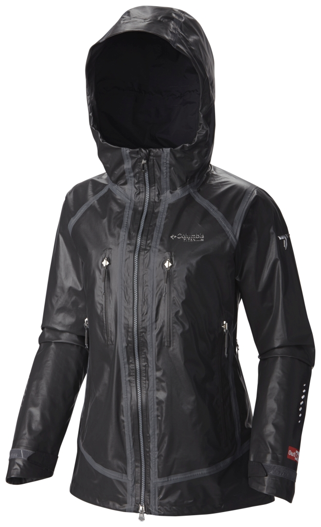 Columbia Outdry Ex Platinum Tech Shell Black-30