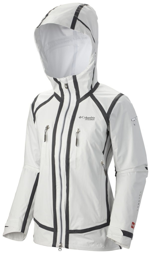 Columbia Outdry Ex Platinum Tech Shell White-30