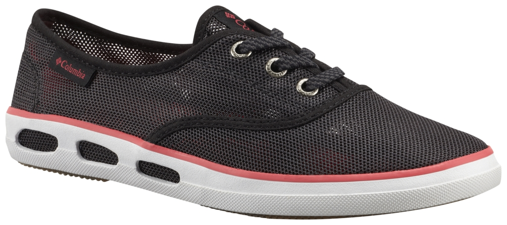 Columbia Vulc N Vent Lace Mesh Shark, Laser Red-30