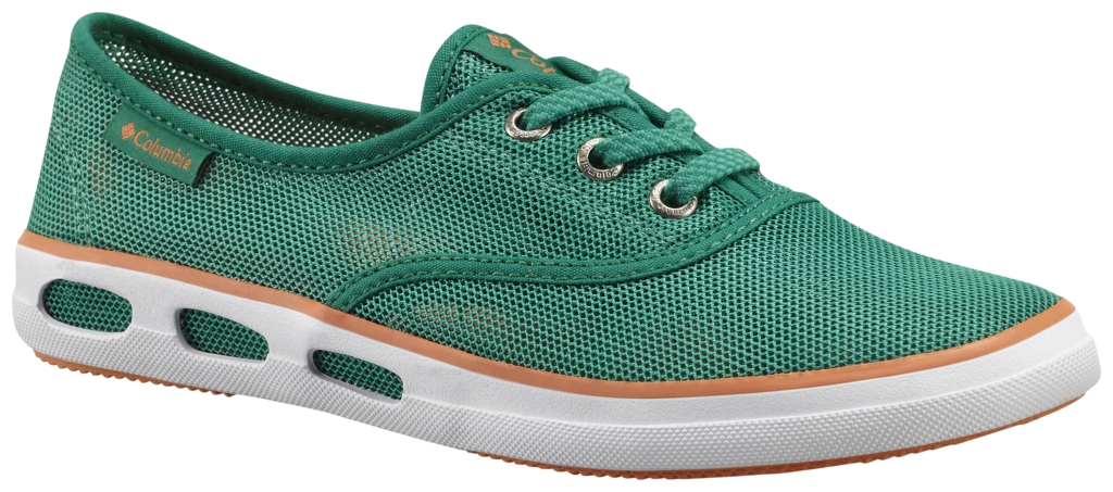 Columbia Vulc N Vent Lace Mesh Bright Emerald, Jupiter-30