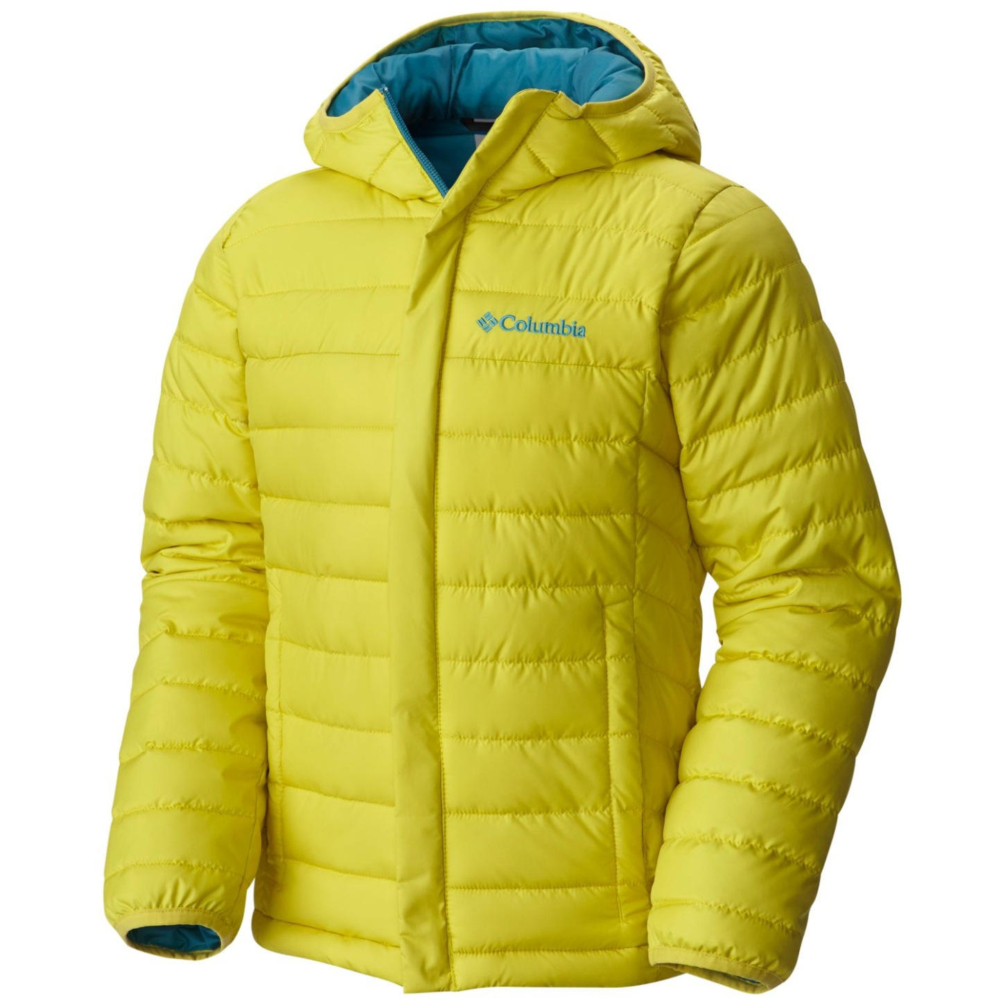Columbia Boys' Powder Lite Puffer Jacket Mineral Yellow-30