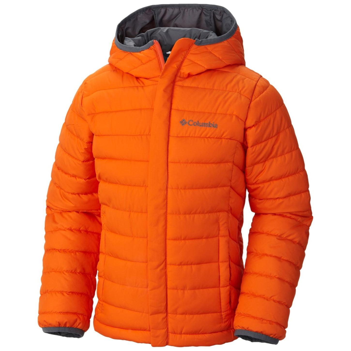 Columbia Powder Lite Puffer-Jacke für Kleinkinder Tangy Orange-30