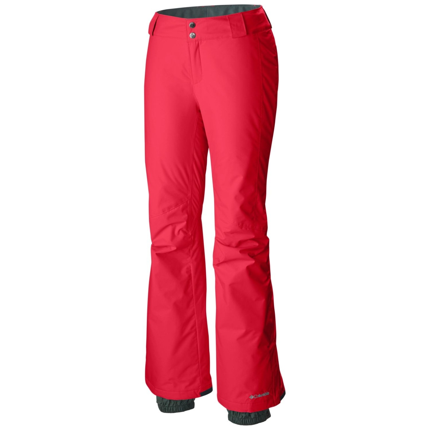 Columbia Women's Bugaboo Ski Trousers Red Camellia-30