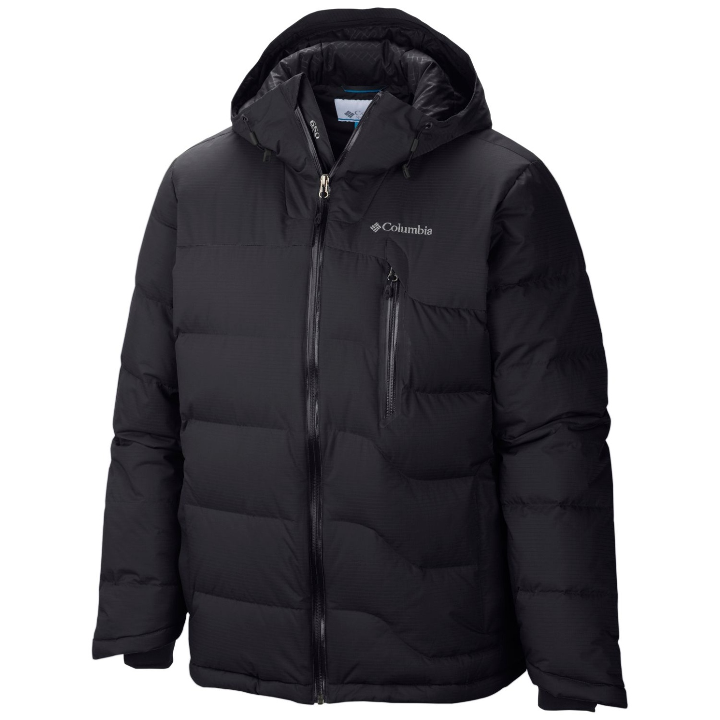 Columbia Men's M Powder Down Jacket Black-30