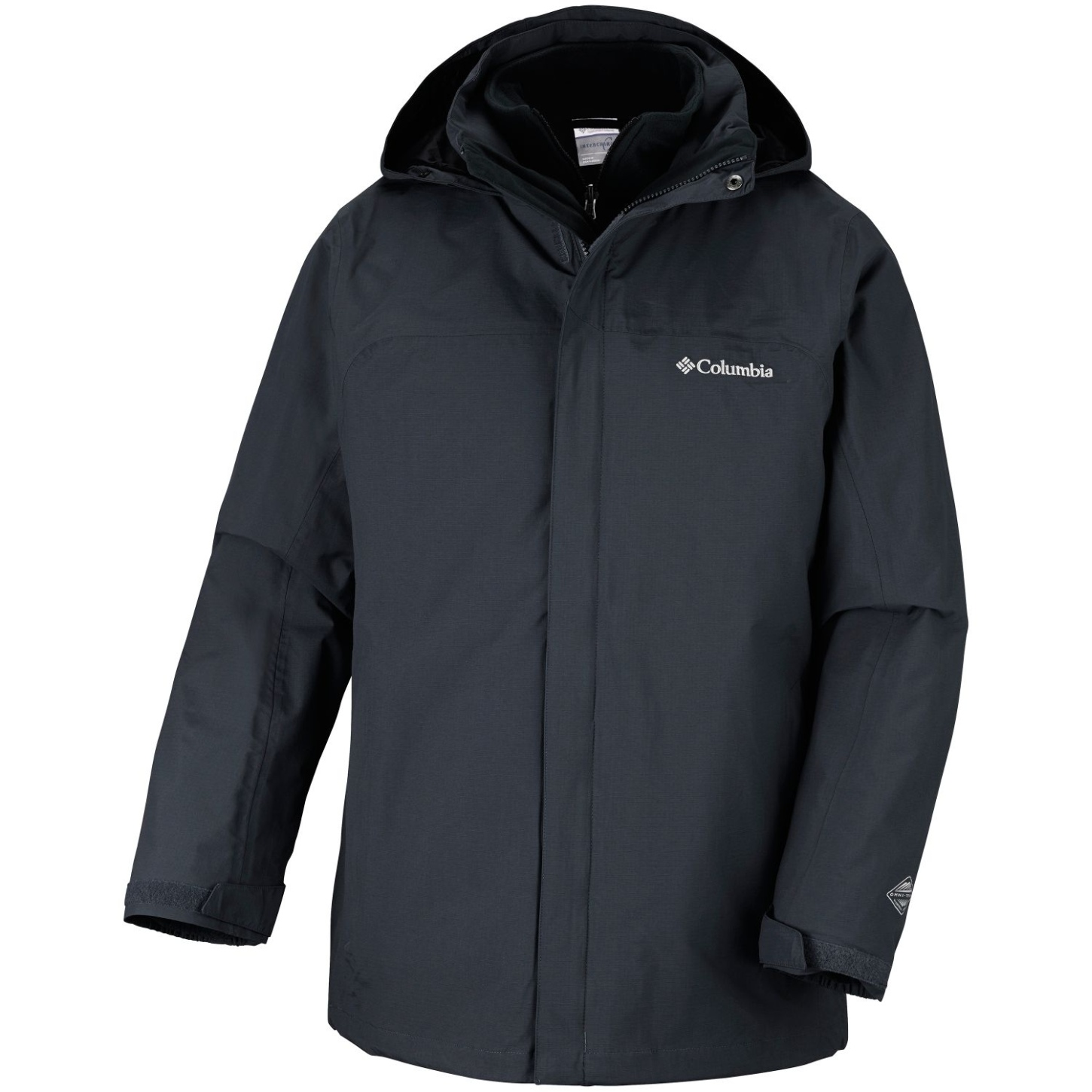Columbia Men's Mission Air Interchange Jacket Black, Black-30