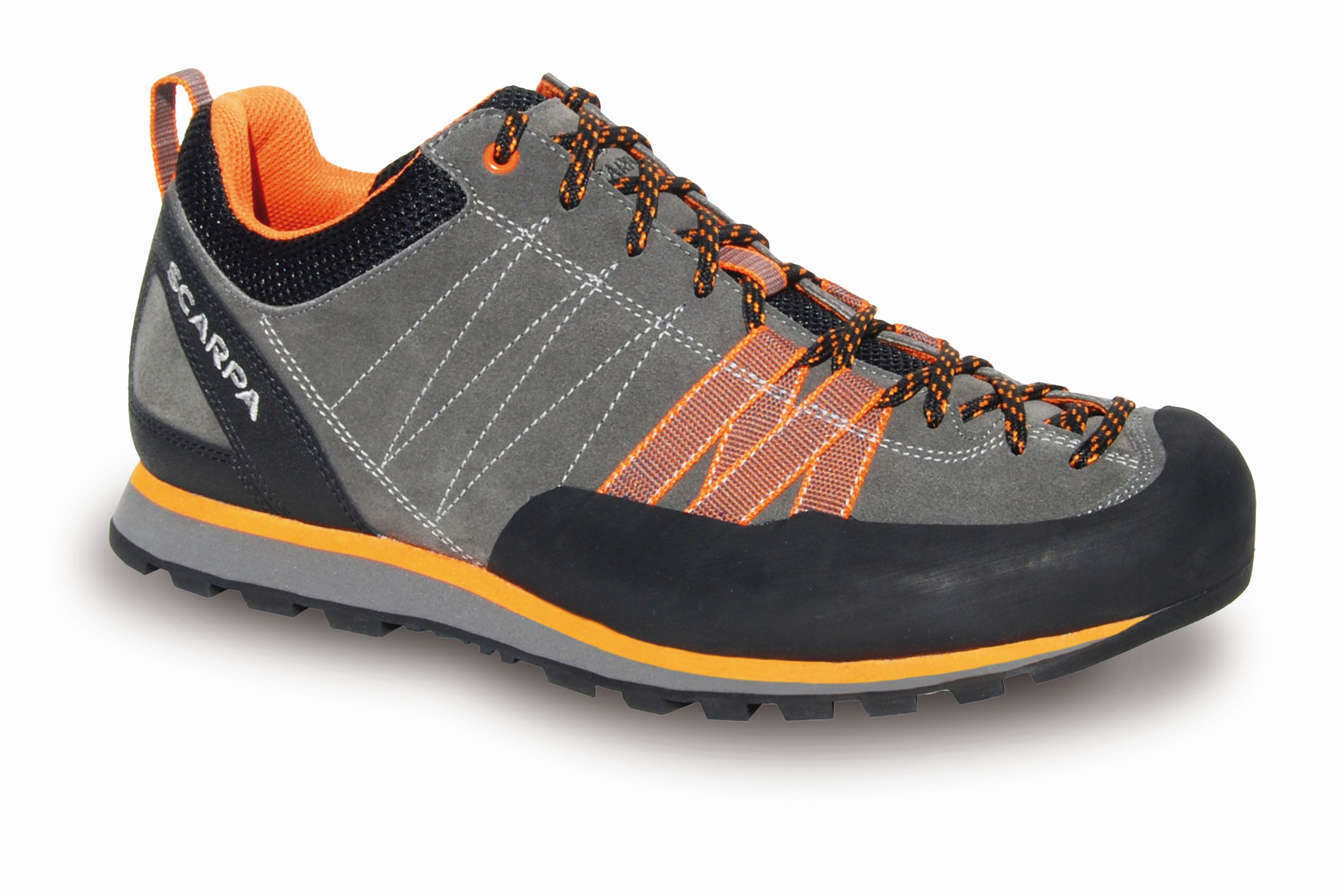 Scarpa Crux Gray/Orange-30