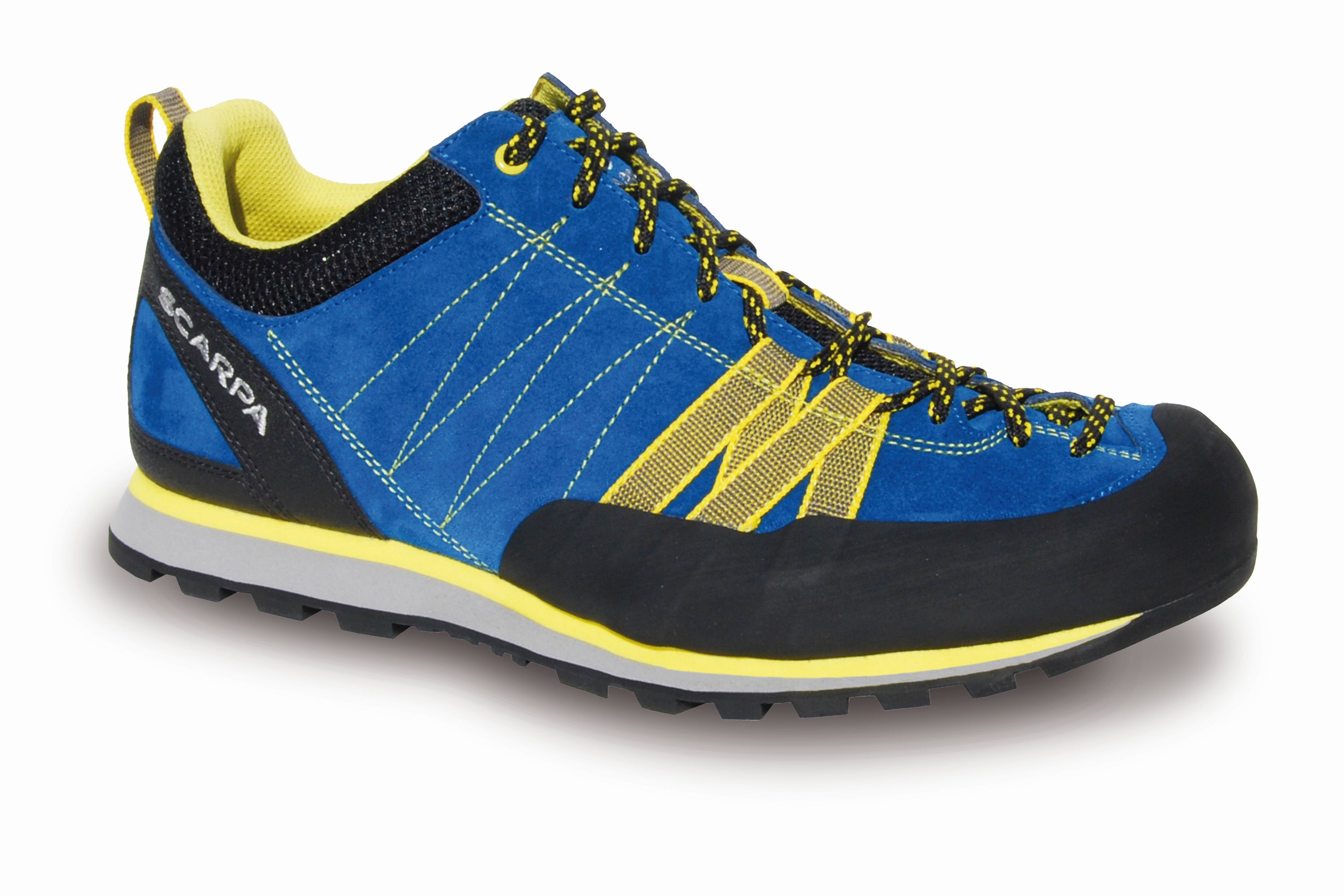 Scarpa Crux Hyper blue/Yellow-30
