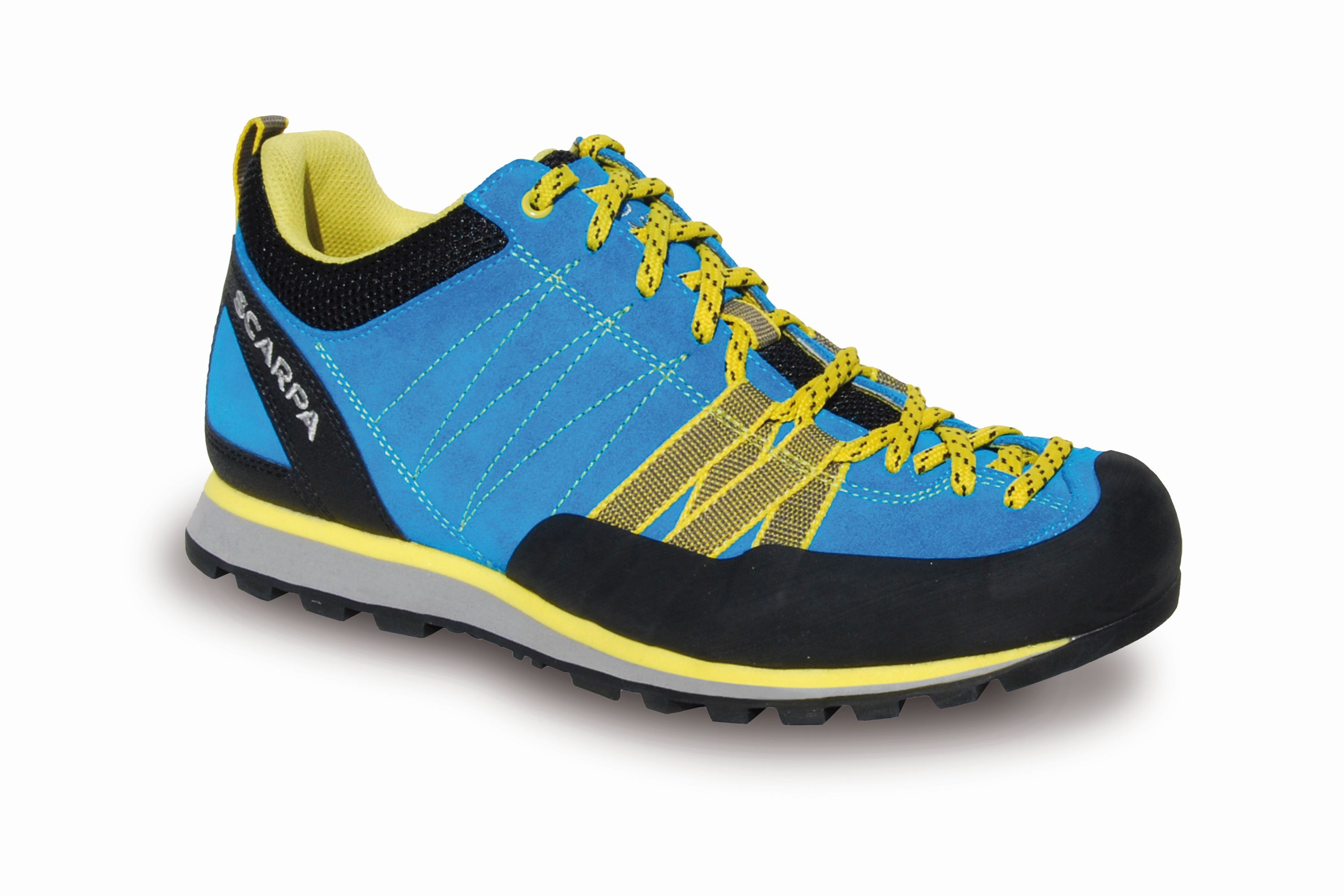Scarpa Crux Wmn Hawaian blue/Yellow-30