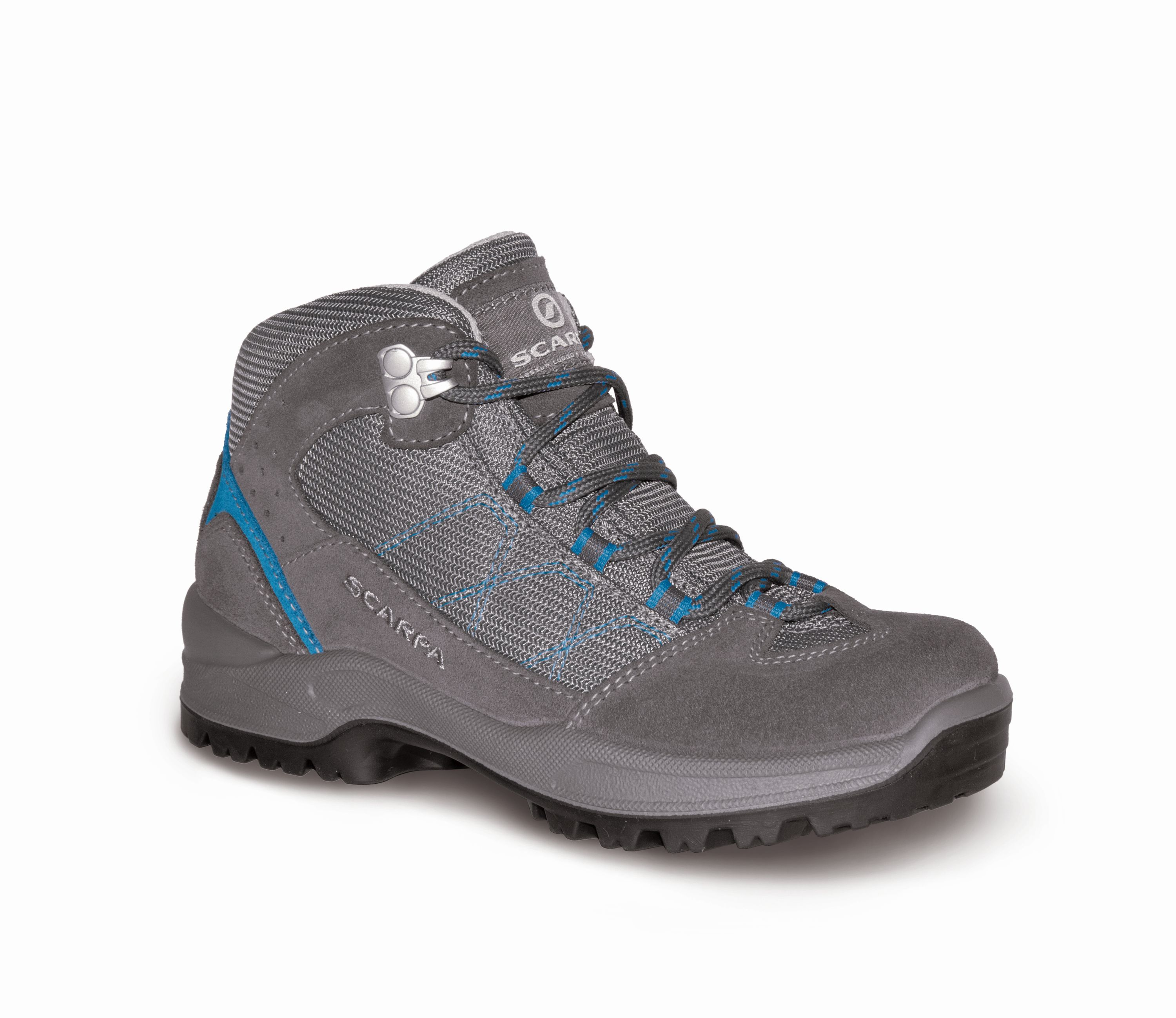 Scarpa Cyclone Kid Smoke/Hyper blue-30