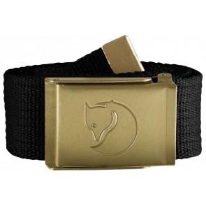 FjallRaven Canvas Brass Belt 4 cm. Black-20