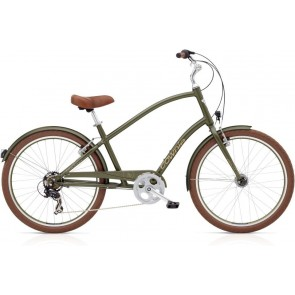 Electra Townie Original 7D EQ Men's Matte Khaki-20