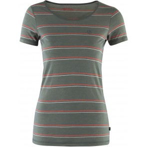 FjallRaven High Coast Stripe T-Shirt W Navy-20