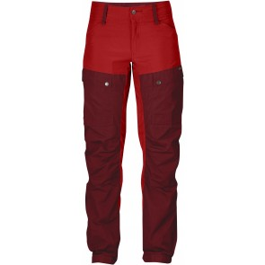 FjallRaven Keb Trousers W Curved Ox Red-20