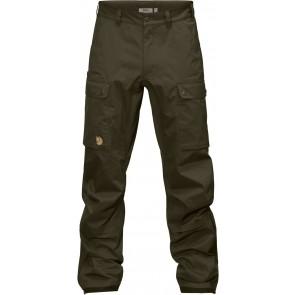 FjallRaven Varmland Eco-Shell Trousers Dark Olive-20