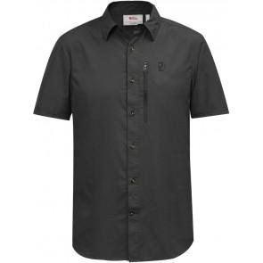 FjallRaven Abisko Hike Shirt SS W Dark Grey-20