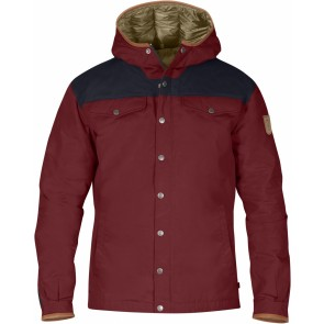 FjallRaven Greenland No.1 Down Jacket Red Oak-Night Sky-20