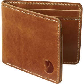 FjallRaven Övik Wallet Leather Cognac-20