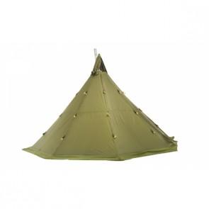 Helsport Varanger 4-6 Outhertent + Tentpoles Helsport Green-20