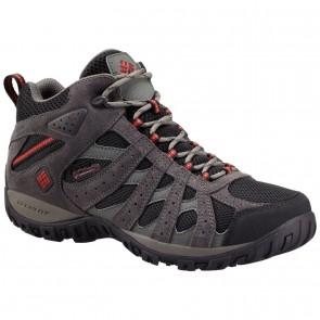 Columbia Men's Redmond Mid Waterproof Shoes Black, Gypsy-20