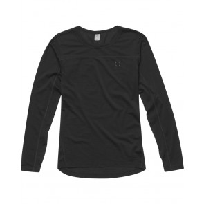 Haglofs Actives Merino II Roundneck Women True Black-20