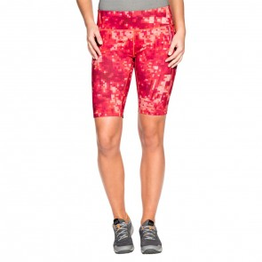 Jack Wolfskin Rain Forest Tights Short Women hot coral all over-20