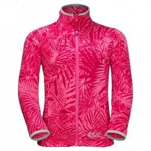 Jack Wolfskin Jungle Fleece Girls hot pink all over-20