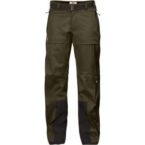 FjallRaven Keb Eco-Shell Trousers W Dark Olive-20