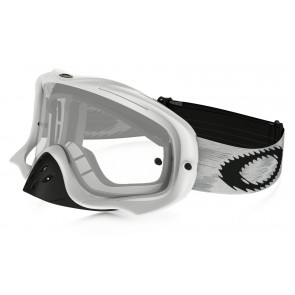 Oakley Crowbar Mx Frame: MATTE WHITE SPEED Lens: CLEAR-20