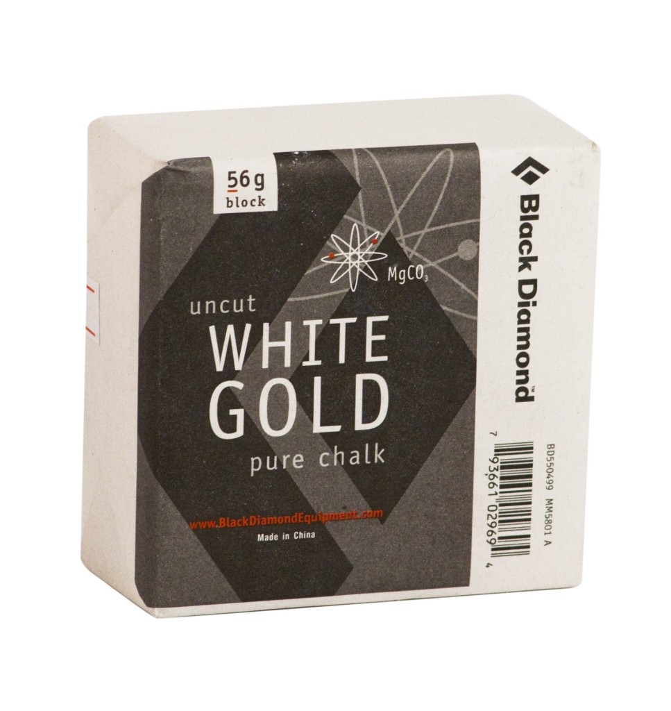 Black Diamond Solid White Gold - Block 56gr.