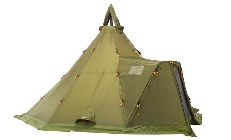 Helsport Varanger Camp 12-14 Outhertent + Tentpoles
