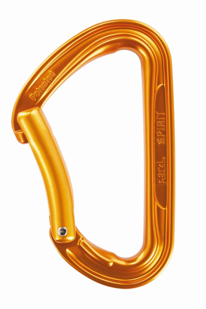 Petzl Spirit - Curved gate