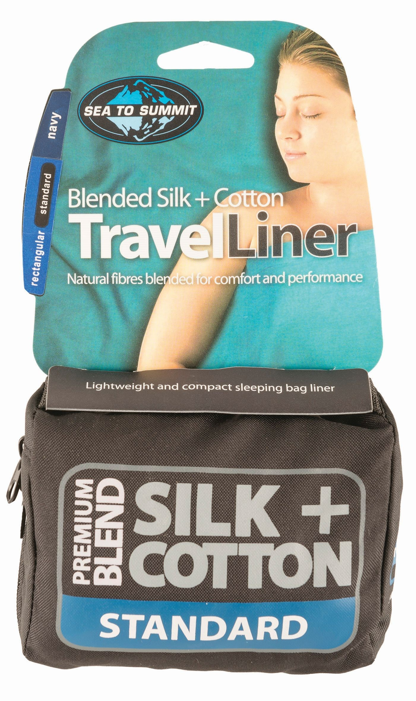 Sea To Summit Silk/Cotton Travel Liner Standard (Rectangular)