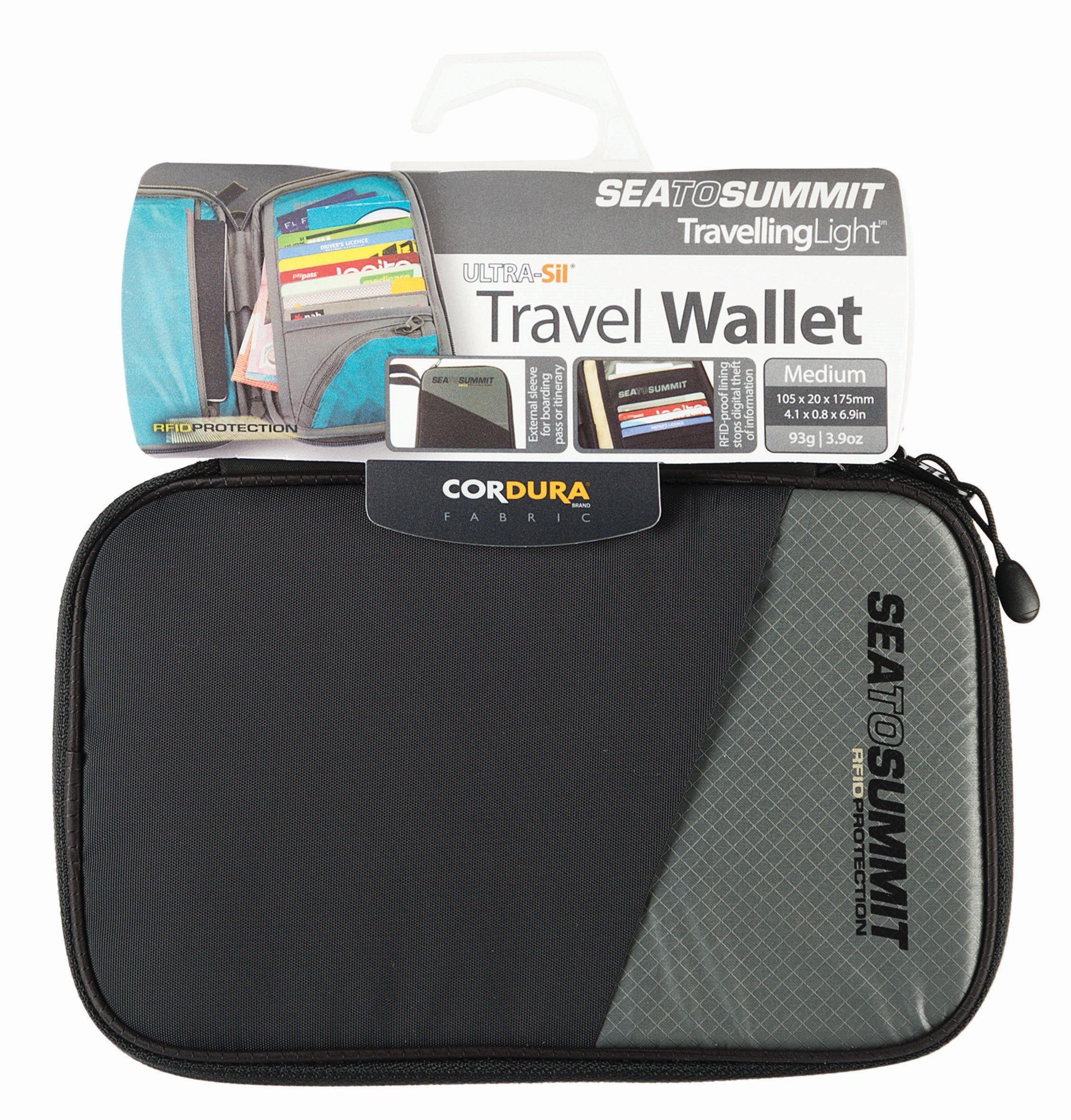Sea To Summit Travel Wallet RFID Medium Black