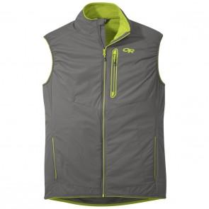Outdoor Research OR Men's Ascendant Vest pewter/lemongrass-20