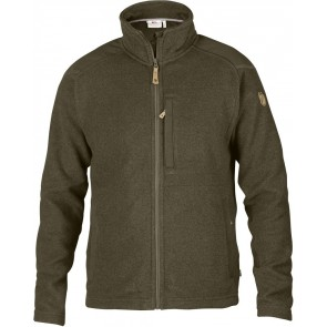 FjallRaven Buck Fleece Dark Olive-20
