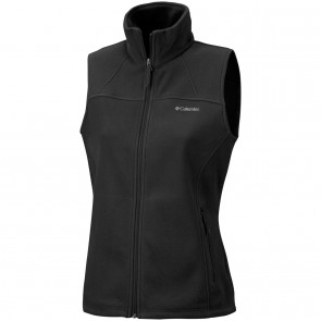 Columbia Women's Fast Trek Fleece Vest Black-20