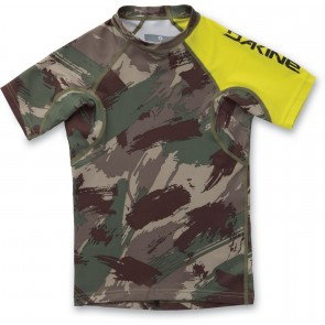 Dakine Boy'S Heavy Duty Snug Fit S/S Camo-20