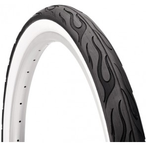 Electra Tire Electra Cruiser Hotster 26 x 2.125 Whitewall Whitewall;White-20