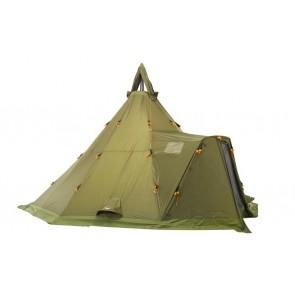 Helsport Varanger Camp 8-10 Outhertent + Tentpoles Helsport Green-20
