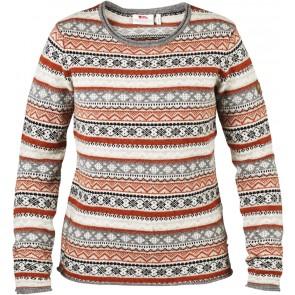 FjallRaven Ovik Folk Knit Sweater W Fog-20