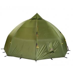 Helsport Varanger Dome 8-10 Outhertent + Tentpoles Helsport Green-20